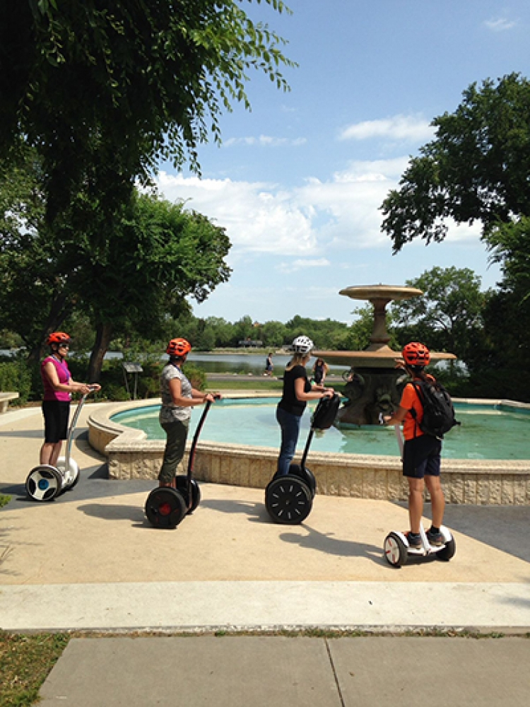 Take an Exhilarating Ride through Wascana Park