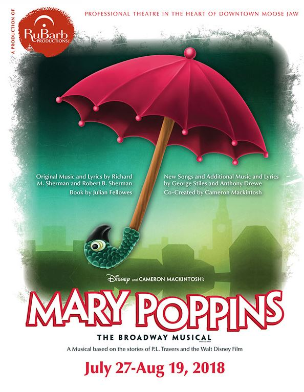 Rubarb Productions presents: Mary Poppins