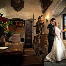 Create Romantic Wedding Memories  at Stone Hall Castle