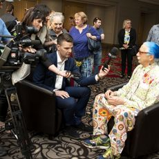Patch Adams Keynotes Mayor's Luncheon in Support of The Caring Place